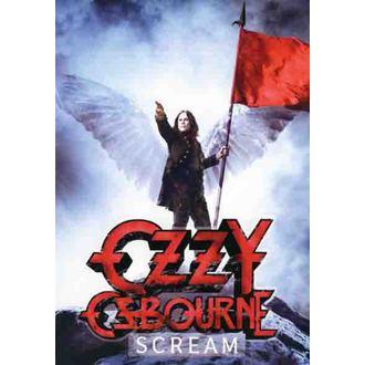 vlajka Ozzy Osbourne - Scream, HEART ROCK, Ozzy Osbourne