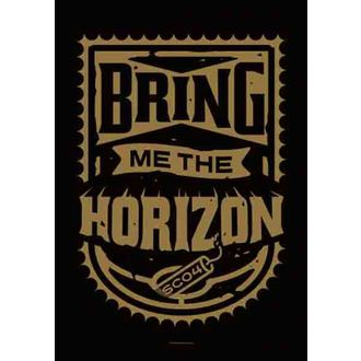 vlajka Bring Me The Horizon - Dynamite Shield, HEART ROCK, Bring Me The Horizon