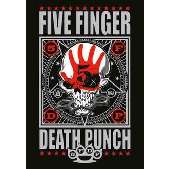 vlajka Five Finger Death Punch - Punchagram, HEART ROCK, Five Finger Death Punch