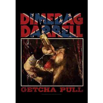 vlajka Dimebag Darrel - Getcha Pull, HEART ROCK, Dimebag Darrell