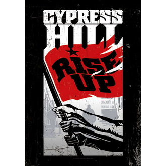 vlajka Cypress Hill - Rise Up, HEART ROCK, Cypress Hill