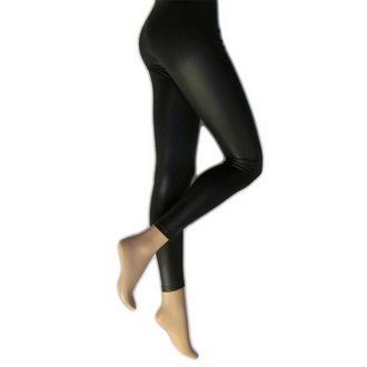 nohavice dámske (legíny) LEGWEAR - Lather Look - Black, LEGWEAR