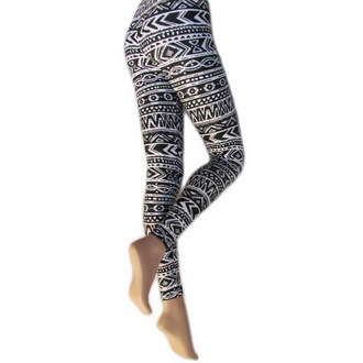 nohavice dámske (legíny) LEGWEAR - Aztec, LEGWEAR