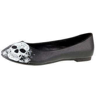 topánky dámske (balerínky) BANNED - Black/White, BANNED