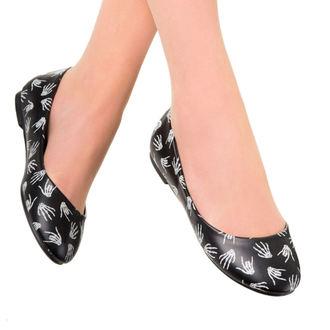 topánky dámske (balerínky) BANNED - Black / Glow, BANNED