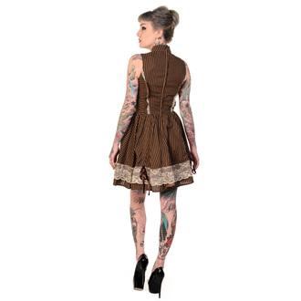 šaty dámske BANNED - Brown, BANNED