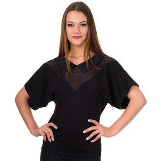 tričko dámske (top) BANNED - Black, BANNED