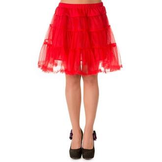 sukňa dámska (spodnička) BANNED - Red - SBN202