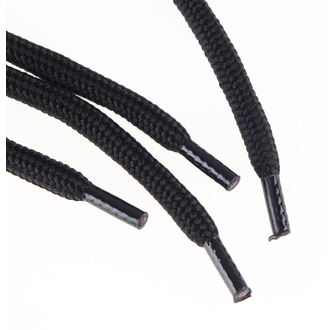 šnúrky 3 dierkové - Black, STEEL