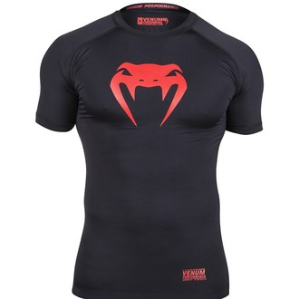 tričko pánske (termo) VENUM - Contender Compression - Red Devil, VENUM