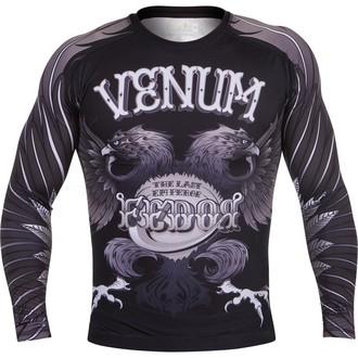 tričko pánske s dlhým rukávom (termo) VENUM - Eagle Fedor Rashguard - Black, VENUM