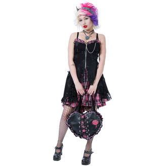 šaty dámske DEAD THREADS - Pink