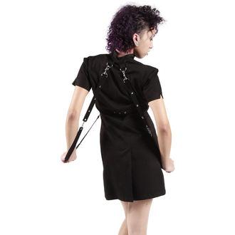 šaty dámske DEAD THREADS - Black, DEAD THREADS