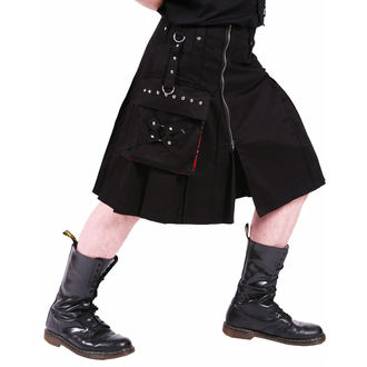 kilt pánsky DEAD THREADS - Black, DEAD THREADS
