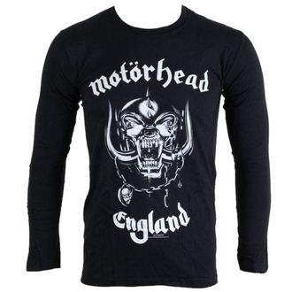 tričko pánske s dlhým rukávom Motorhead - England - BRAVADO EU - MHEADLST03MB, BRAVADO EU, Motörhead