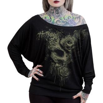 tričko dámske s dlhým rukávom HYRAW - Death, HYRAW
