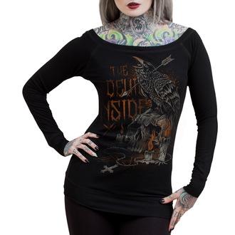 tričko dámske s dlhým rukávom HYRAW - Darkness, HYRAW