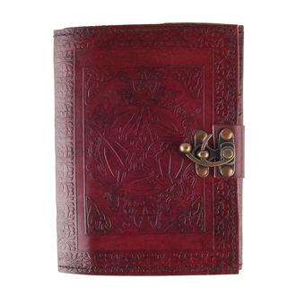 poznámkový blok Pentagram Leather Journal, NNM