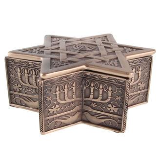 krabička (dekorácia) Star of David & Menorah