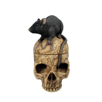 dekorácia (krabička) Salem Skull