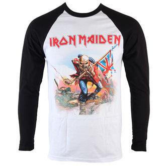 tričko pánske s dlhým rukávom Iron Maiden - Trooper - ROCK OFF, ROCK OFF, Iron Maiden