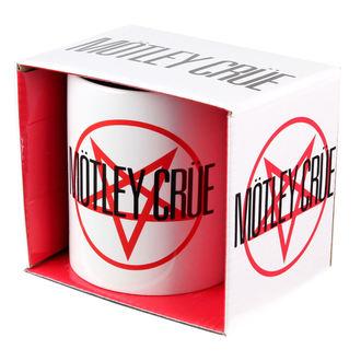 hrnček Mötley Crüe - Shout At The Devil Logo - ROCK OFF, ROCK OFF, Mötley Crüe