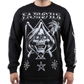 tričko pánske s dlhým rukávom FAMOUS STARS & STRAPS - Relax Reaper, FAMOUS STARS & STRAPS