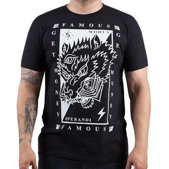 tričko pánske FAMOUS STARS & STRAPS - Wolf Money, FAMOUS STARS & STRAPS
