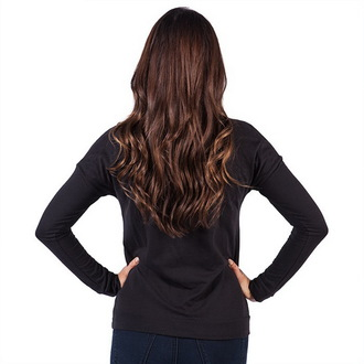 tričko dámske s dlhým rukávom FAMOUS STARS & STRAPS - New Life - Black, FAMOUS STARS & STRAPS