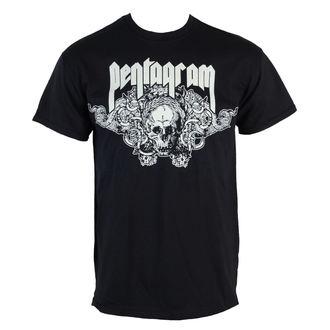 tričko pánske Pentagram - Skull - RAZAMATAZ, RAZAMATAZ, Pentagram