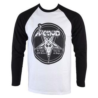 tričko pánske s dlhým rukávom Venom - In League With Satan - RAZAMATAZ, RAZAMATAZ, Venom