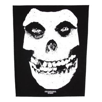 nášivka veľká Misfits - Face Skull - RAZAMATAZ, RAZAMATAZ, Misfits