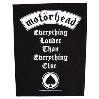 nášivka veľká Motörhead - Everything Louder - RAZAMATAZ, RAZAMATAZ, Motörhead