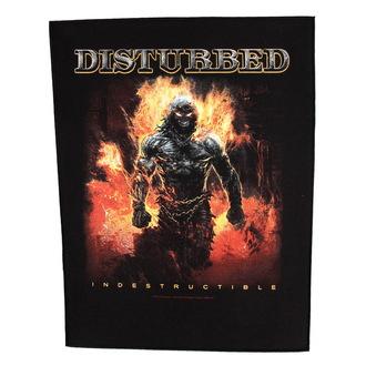 nášivka veľká Disturbed - Indestructible - RAZAMATAZ, RAZAMATAZ, Disturbed