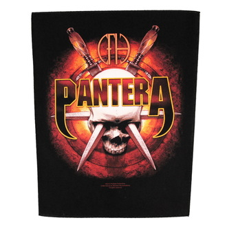 nášivka veľká Pantera - Skull Knives - RAZAMATAZ, RAZAMATAZ, Pantera