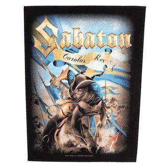 nášivka veľká Sabaton - Carolus Rex - RAZAMATAZ, RAZAMATAZ, Sabaton