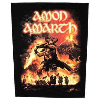 nášivka veľká Amon Amarth - Surtur Rising - RAZAMATAZ, RAZAMATAZ, Amon Amarth