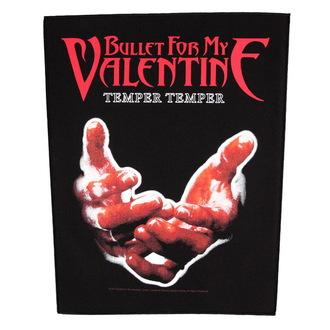 nášivka veľká Bullet For my Valentine - Temper Temper - RAZAMATAZ, RAZAMATAZ, Bullet For my Valentine
