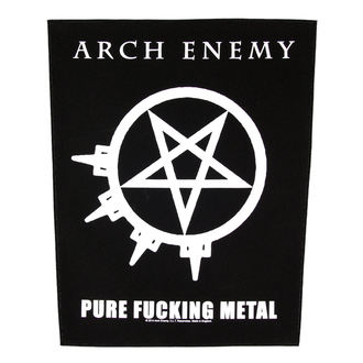 nášivka veľká Arch Enemy - Pure Fucking Metal - RAZAMATAZ, RAZAMATAZ, Arch Enemy
