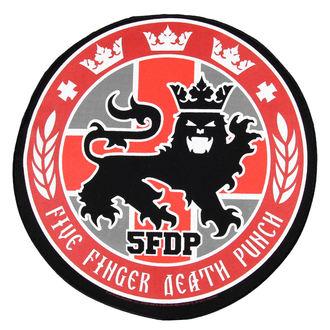 nášivka veľká Five Finger Death Punch - Legionárov Seal - RAZAMATAZ, RAZAMATAZ, Five Finger Death Punch