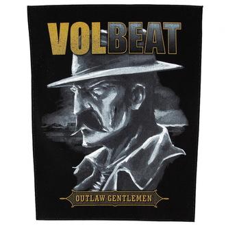 nášivka veľká Volbeat - Outlaw Gentlemen - RAZAMATAZ, RAZAMATAZ, Volbeat