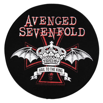 nášivka veľká Avenged Sevenfold - Red Crown - RAZAMATAZ, RAZAMATAZ, Avenged Sevenfold