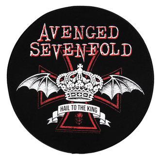 nášivka veľká Avenged Sevenfold - Red Crown - RAZAMATAZ, RAZAMATAZ, Avenged Sevenfold