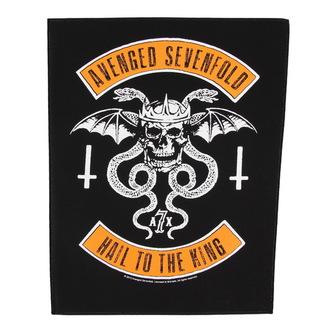 nášivka veľká Avenged Sevenfold - Biker - RAZAMATAZ, RAZAMATAZ, Avenged Sevenfold