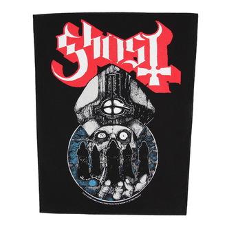 nášivka veľká Ghost - Papa Warriors - RAZAMATAZ, RAZAMATAZ, Ghost