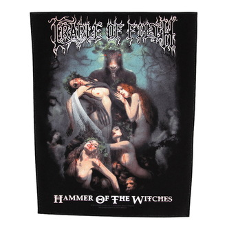 nášivka veľká Cradle of Filth - Hammer Of The Witches - RAZAMATAZ, RAZAMATAZ, Cradle of Filth