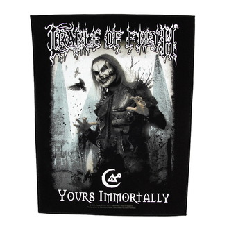 nášivka veľká Cradle of Filth - Yours Immortally - RAZAMATAZ, RAZAMATAZ, Cradle of Filth