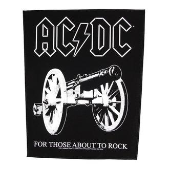nášivka veľká AC/DC - For Those About To Rock - RAZAMATAZ, RAZAMATAZ, AC-DC