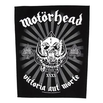 nášivka veľká Motörhead - Victoria Aut Morte 1975-2015 - RAZAMATAZ, RAZAMATAZ, Motörhead