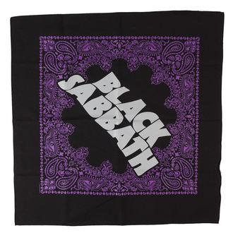 šatka Black Sabbath - Logo - RAZAMATAZ, RAZAMATAZ, Black Sabbath